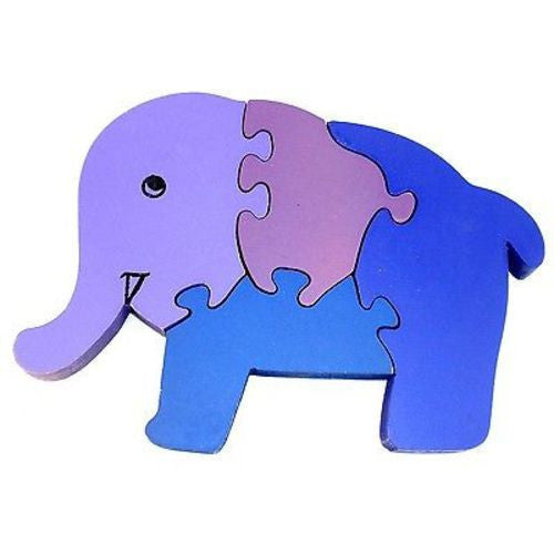 Wooden Elephant Puzzle Handmade and Fair Trade