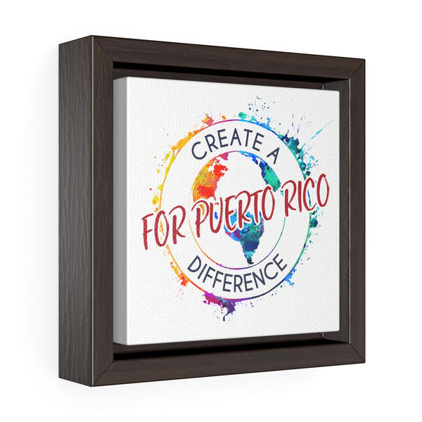 Create A Difference - Puerto Rico Canvas