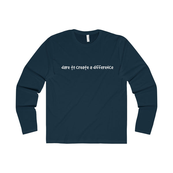 Dare To Create A Difference Men's Premium Long Sleeve Crew