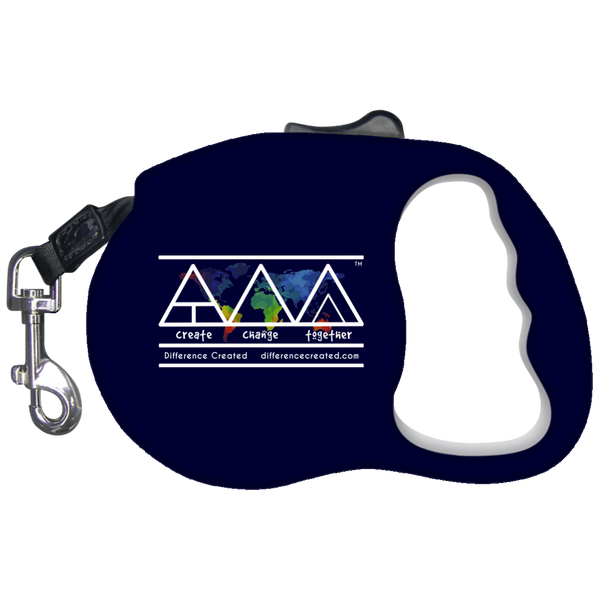 Create Change Together - Retractable Dog Leash