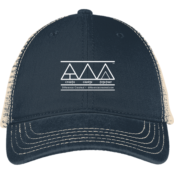 Create Change Together -  District Mesh Back Cap