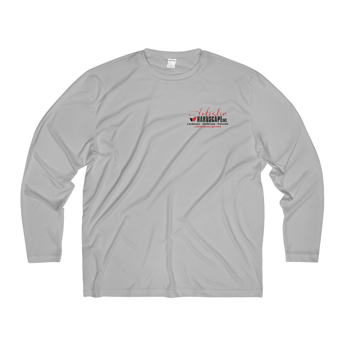 Artistic Hardscape - Men's Long Sleeve Moisture Absorbing Tee