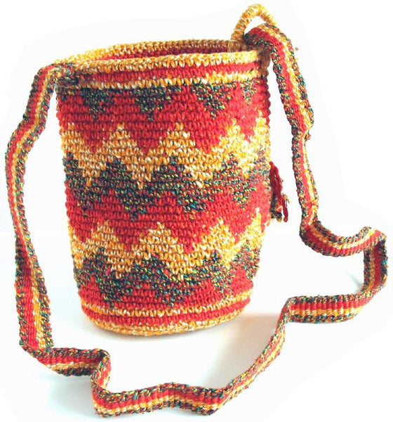 Mayan Bag - Sunrise - Natural Artist