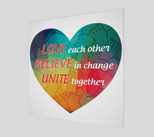 Love, Believe, Unite