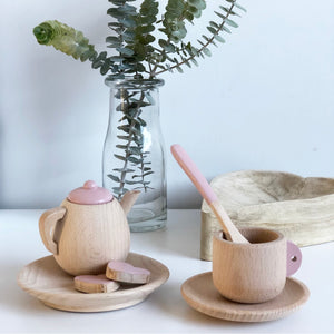 Wooden Tea Set - Tea for One