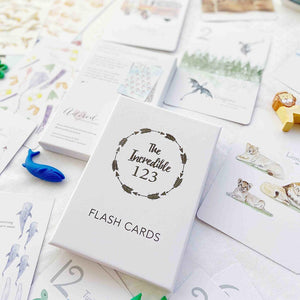 The Incredible 123 - Flash Cards