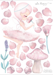Fabric Wall Decals - 'Crystal the Fairy'