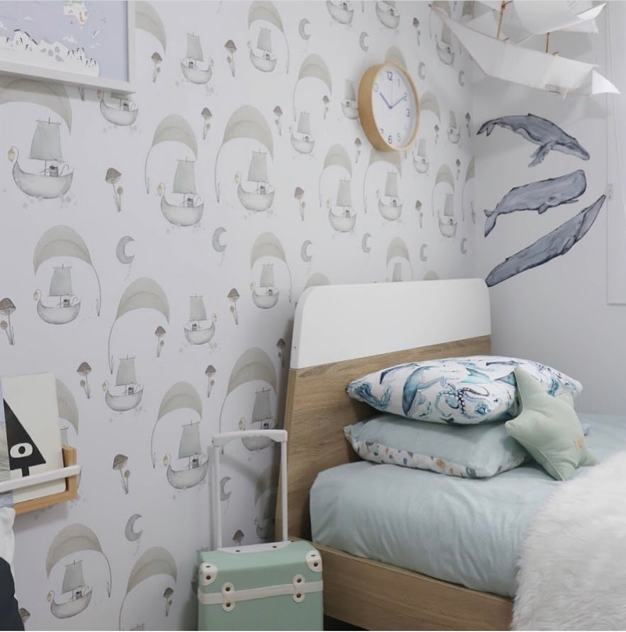 Fabric Wall Decals - From The Deep