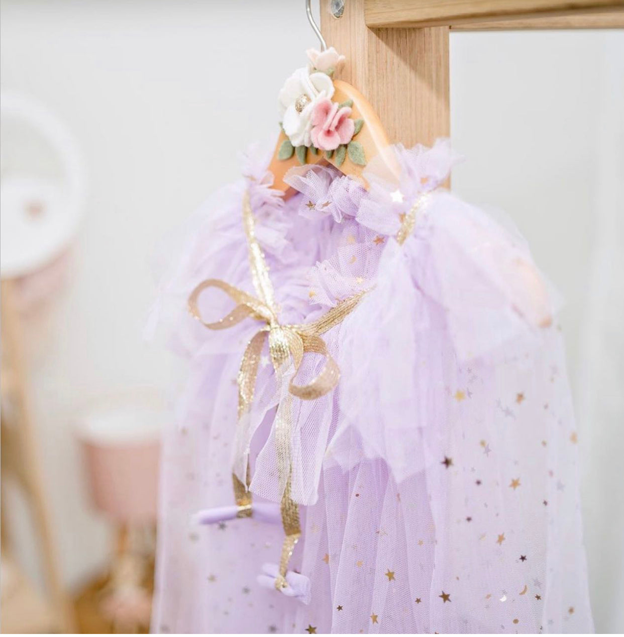 Tulle Cape - assorted colours