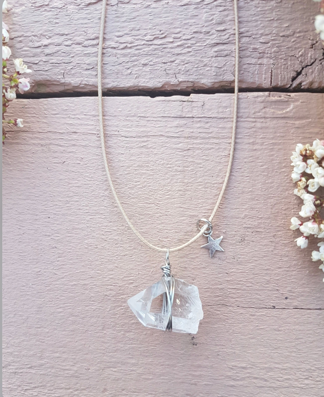 Twinkle Twinkle Quartz Necklace