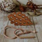 Wooden Lacing Toy - Leaf