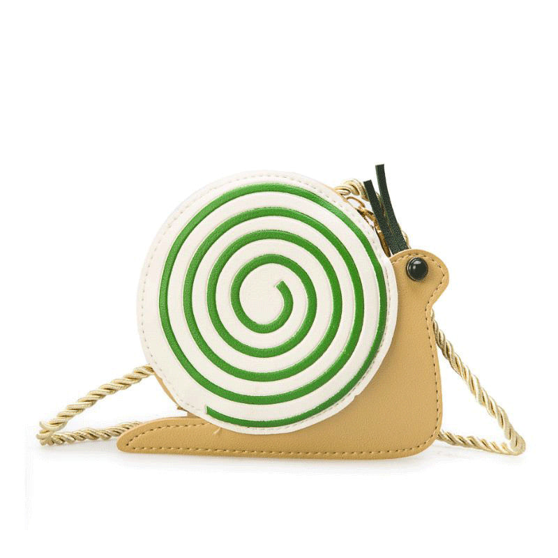 Snail Messenger Bag