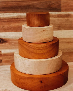 Stacking and Nesting Bowls - Two Tone