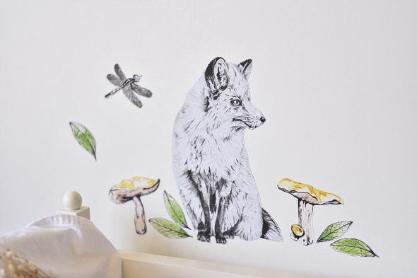 Fabric Wall Decals - Boy Woodland