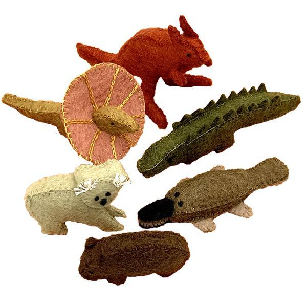 Australian Animals - 6pc