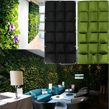 Hanging Wall Pocket Vertical Garden Planter for Flowers Herbs or Plants ~ 18 Pockets - BOUTIQUE CHIC