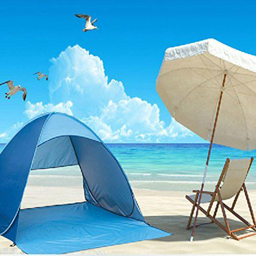 Quick Ultralight Automatic Opening Beach or Camping Pop Up Tent ~ UV Protective & Waterproof - BOUTIQUE CHIC