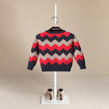 Luxury Designer Children's Casual Long O-Neck Long Sleeve Pullover Sweater ~ Boys 12M-5T - BOUTIQUE CHIC