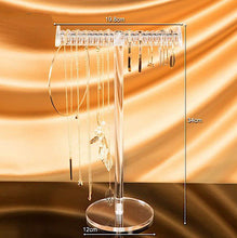 Clear Acrylic T-Bar Jewelry Display Organizer ~ Storage for Bracelets or Necklaces - BOUTIQUE CHIC
