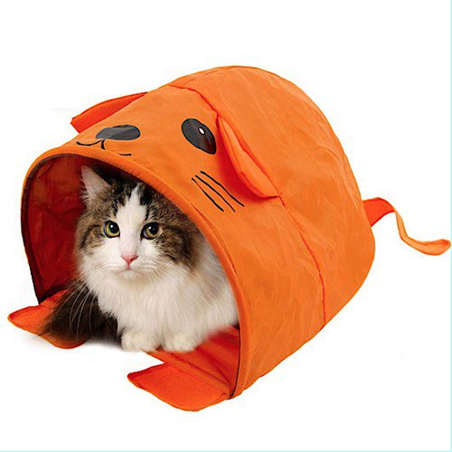 Adorable Small Pet Tunnel House/Tent/Toy ~ Fun as Hiding, Sleeping or Play Spot - BOUTIQUE CHIC