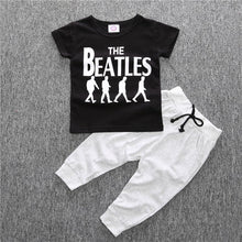Baby Boy The Beatles Short-sleeved T-shirt and Pants ~ 2 Piece Set - BOUTIQUE CHIC