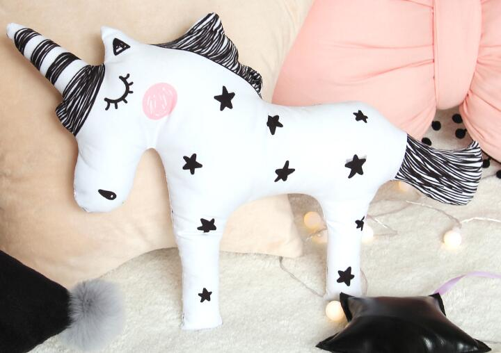 INS Baby Unicorn Stuffed Toy & Decorative Bedding Pillow ~ Perfect for Nursery or Kids Rooms - BOUTIQUE CHIC
