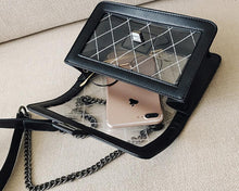 Classic & Luxurious Transparent Messenger Cross Body Bag Handbag - BOUTIQUE CHIC
