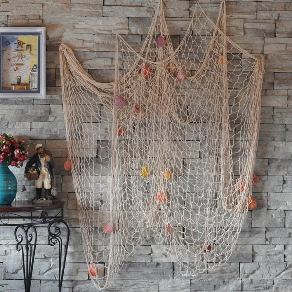 Nautical Fishing Net Seaside Wall Decor Or Beach Party Boutique Chic