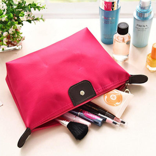 Multifunction Women's Nylon Makeup Cosmetic Organizer Travel Bag - BOUTIQUE CHIC