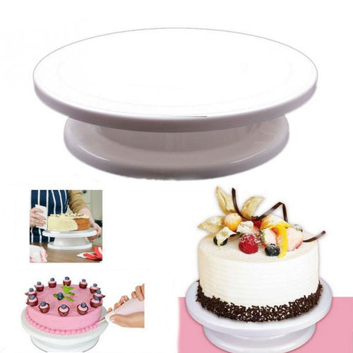 Manual Round Rotating Turntable for DIY Cake Decorating - BOUTIQUE CHIC