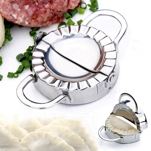 Premium Stainless Steel Pastry Tool ~ Dough Press, Dumpling Maker, Empanada, Pie or Ravioli Tool - BOUTIQUE CHIC