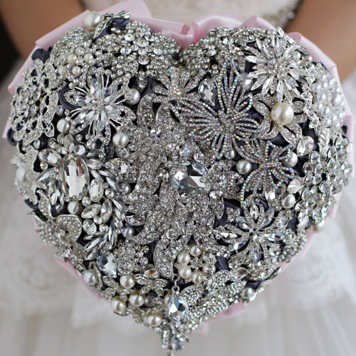 Bridal Boutique Chic Tagged Brooch Wedding Bouquet BOUTIQUE CHIC