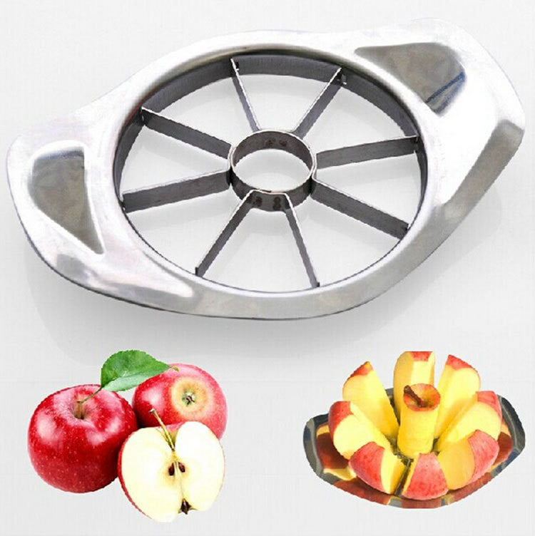 Premium Stainless Steel Apple Corer & Slicer ~ Fruit & Vegetable Kitchen Tool Accessory - BOUTIQUE CHIC