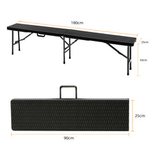 Heavy Duty 6 FT Portable Folding Outdoor Picnic Bench ~ Perfect for Parties, Tailgating & More - BOUTIQUE CHIC