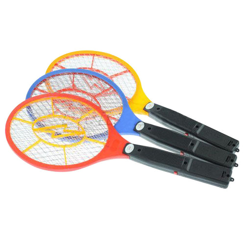 Battery Operated Mosquito Bug Zapper & Fly Swatter Racket with On-Off Switch & LED Light Indicator - BOUTIQUE CHIC