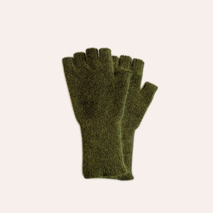 Fingerless Gloves - Medium - Khaki