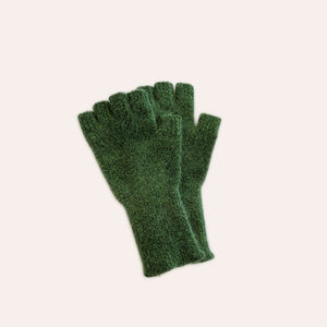 Fingerless Gloves - Medium - Evergreen