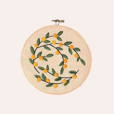 Embroidery Kit - Wattle