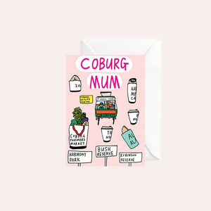 Able and Game Card - Coburg Mum