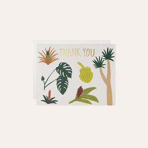 Card - Botanical Thank You - Kate Pugsley - PUG1643