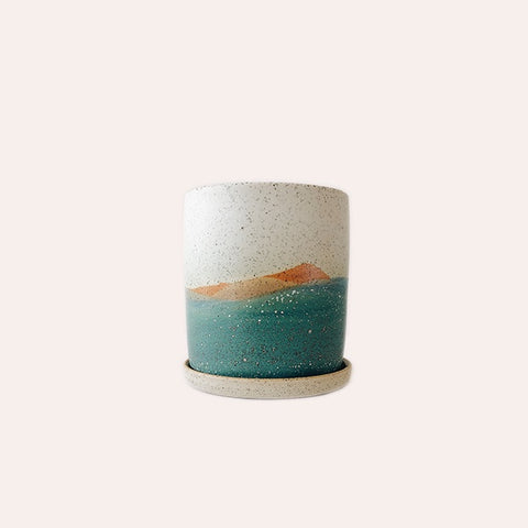 Planter - Small - Aurora Borealis