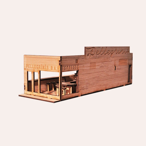 Pellegrini's Espresso Bar - Model Kit
