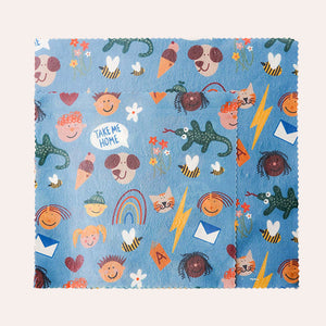 Beeswax Wrap - Kids Pattern Pack