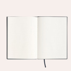 Soft Cover Linen Notebook - Evi O Edition - Dot Grid - A5