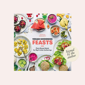 Vegan Goodness Feasts by Jessica Prescott