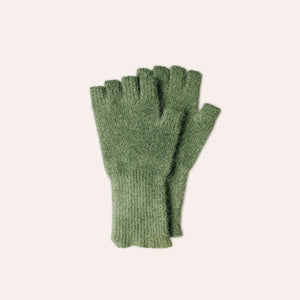 Fingerless Gloves - Medium - Field Green