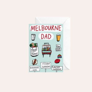 Able and Game Card - Melbourne Dad