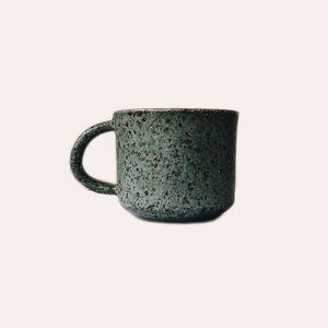 Square Tea Cup - Green