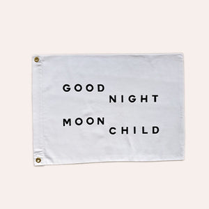 Flag - Good Night Moon Child - Small Size