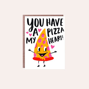 Hello Lucky - Single Card - Pizza My Heart